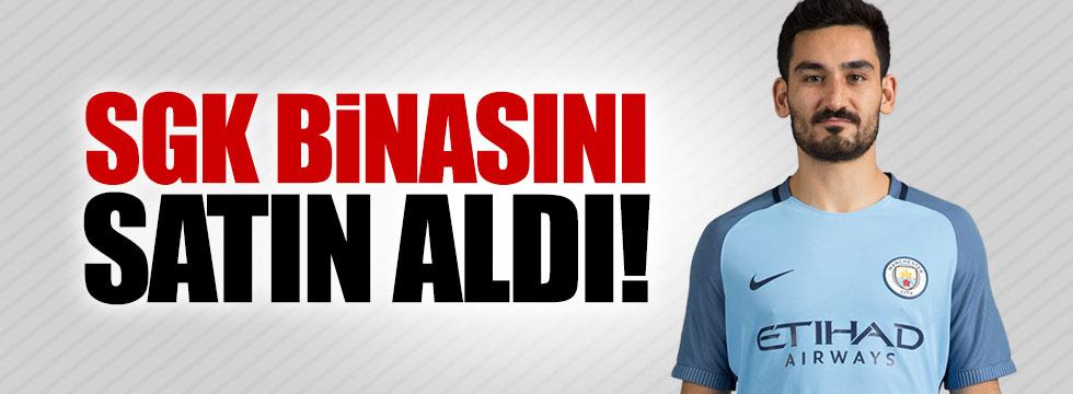Gurbetçi oyuncu Balıkesir'de SGK binasını satın aldı