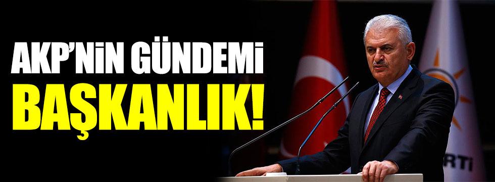 AKP'de tüm mesai Başkanlığa ayrıldı