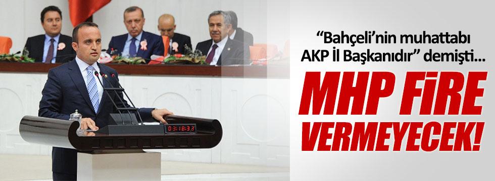 Bahçeli'yi AKP İl Başkanıyla denk tutan isimden MHP açıklaması