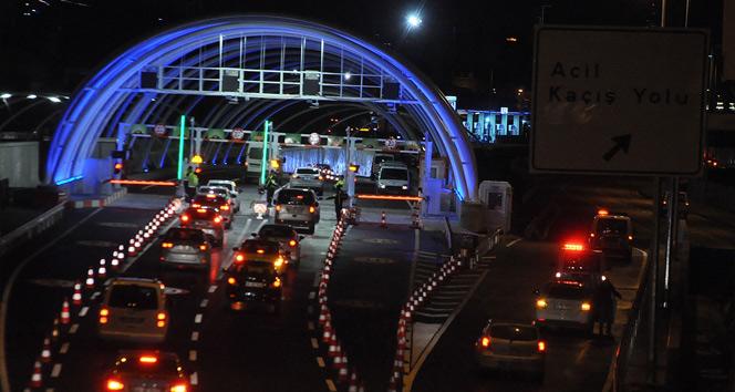 Avrasya Tüneli'nden araç geçişleri başladı