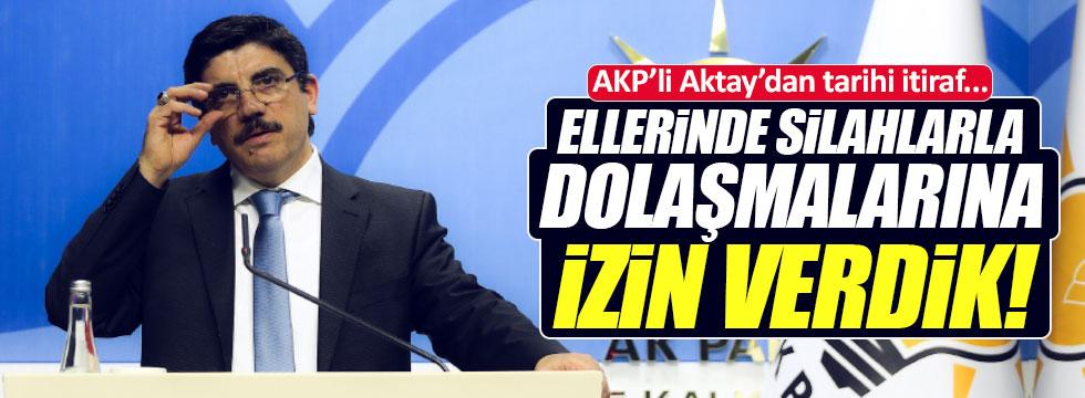 """AKP'li Aktay'dan tarihi """"Çözüm süreci"""" itirafı"""