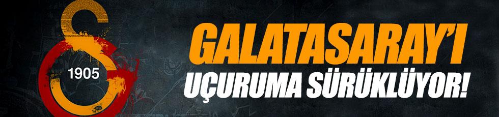 Galatasaray'ı uçuruma sürüklüyor
