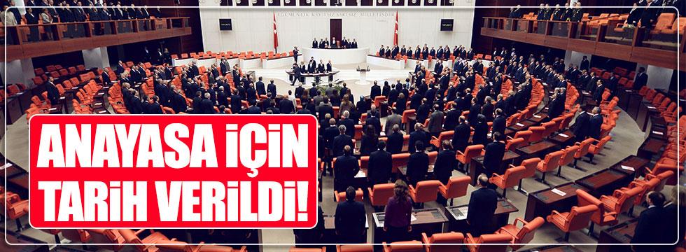 Anayasa, Ocak sonu Meclis'te