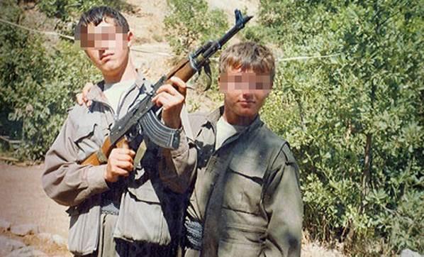 PKK çocukları kullanıyor