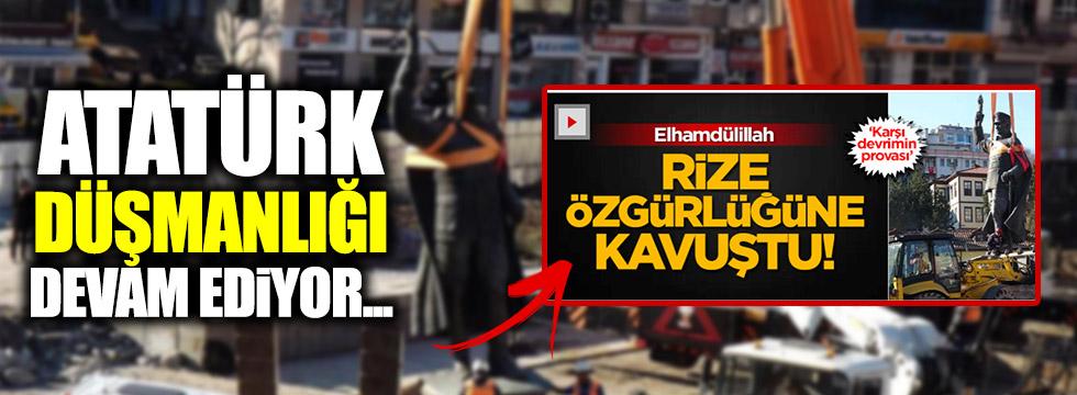 AKİT'ten yine Atatürk düşmanlığı