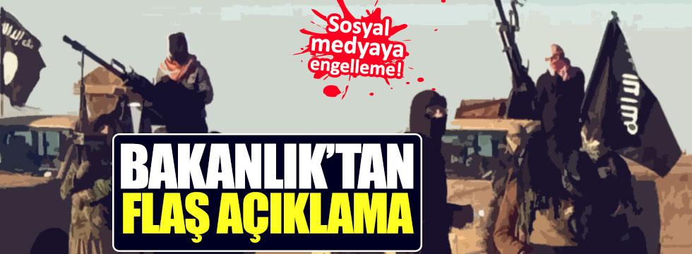 IŞİD'in video iddialarına Bakanlık'tan açıklama
