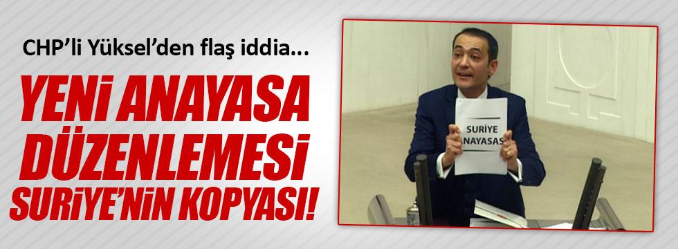 AKP'nin Anayasası Suriye'ye mi ait?