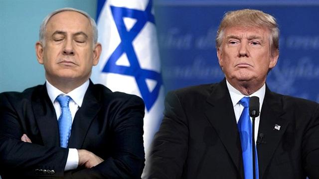 Trump'tan İsrail'e destek