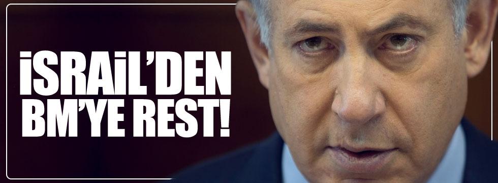 İsrail'den BMGK kararına rest