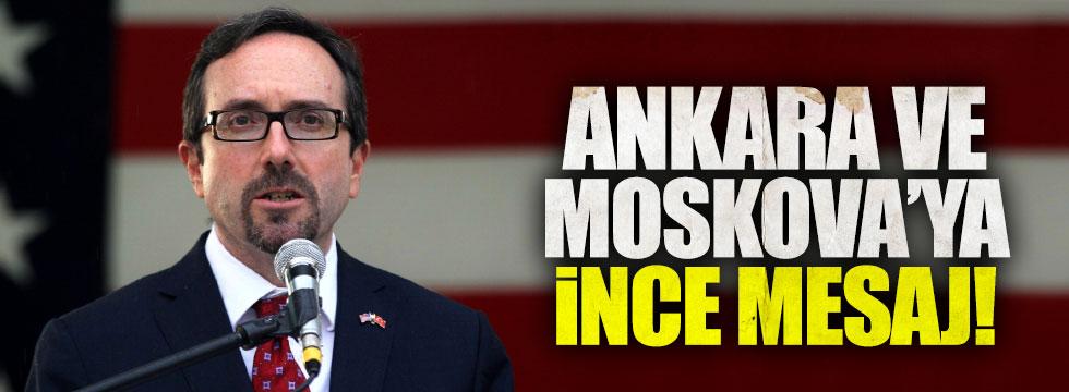 Türkiye'ye söyledi ABD'ye ayar verdi