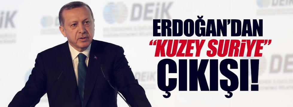 """Erdoğan: """"Böyle bir devletin kurulmasına müsaade etmeyeceğiz"""""""