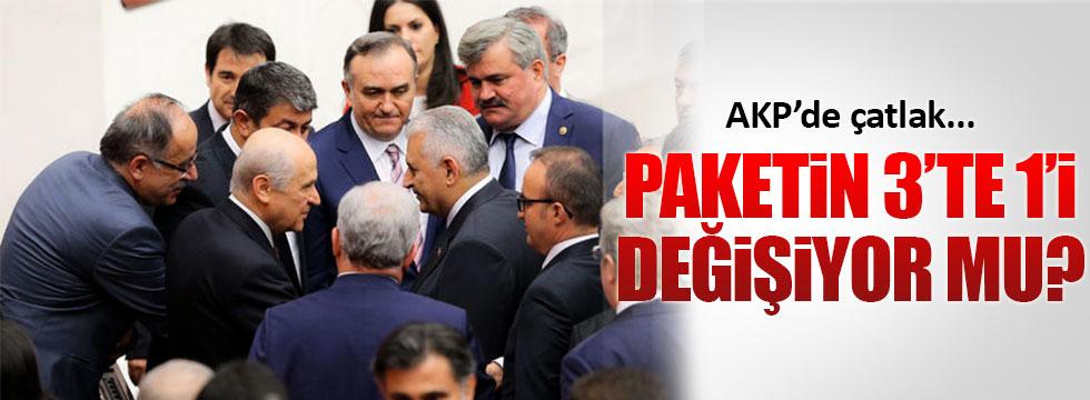 AKP içinde yeni Anayasa çatlağı