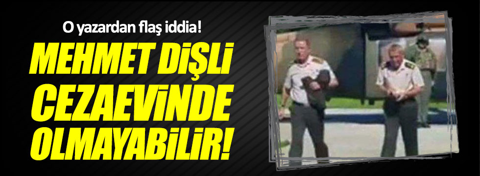 Saygı Öztürk: Mehmet Dişli cezaevinde olmayabilir