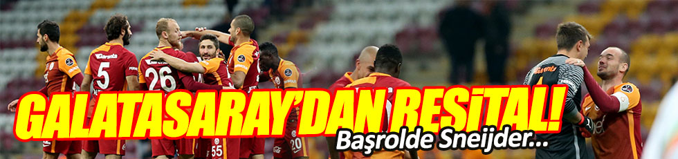 Galatasaray 5-1 Alanyaspor / Maç Özeti