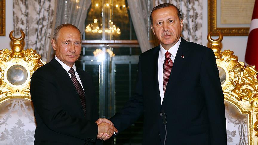 Erdoğan'la Putin arasında kritik görüşme