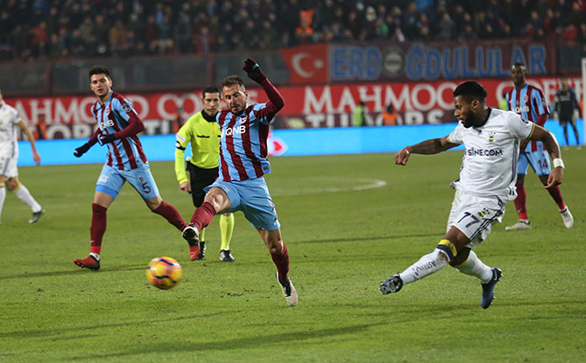 Trabzonspor 0-3 Fenerbahçe / Maç özeti