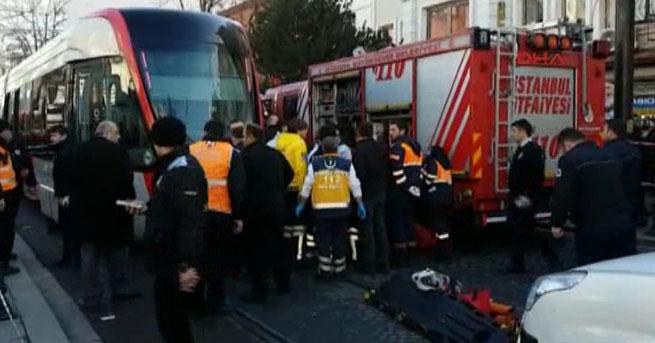 Beyazat'ta tramvay kazası! 1 ölü