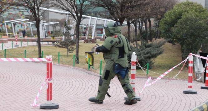 Ankara'da AVM'de bomba paniği