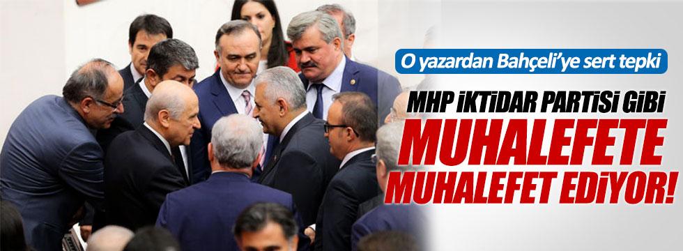Mehmet Türker: MHP, iktidar partisi gibi muhalefete muhalefet ediyor