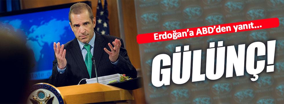 ABD'den Erdoğan'a 'IŞİD' yanıtı