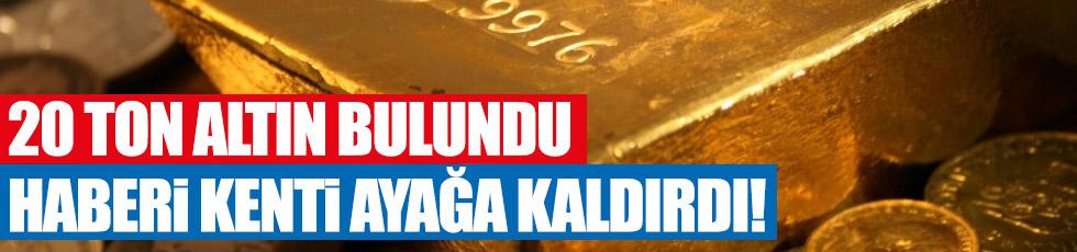 Antalya'da 20 ton altın iddiası