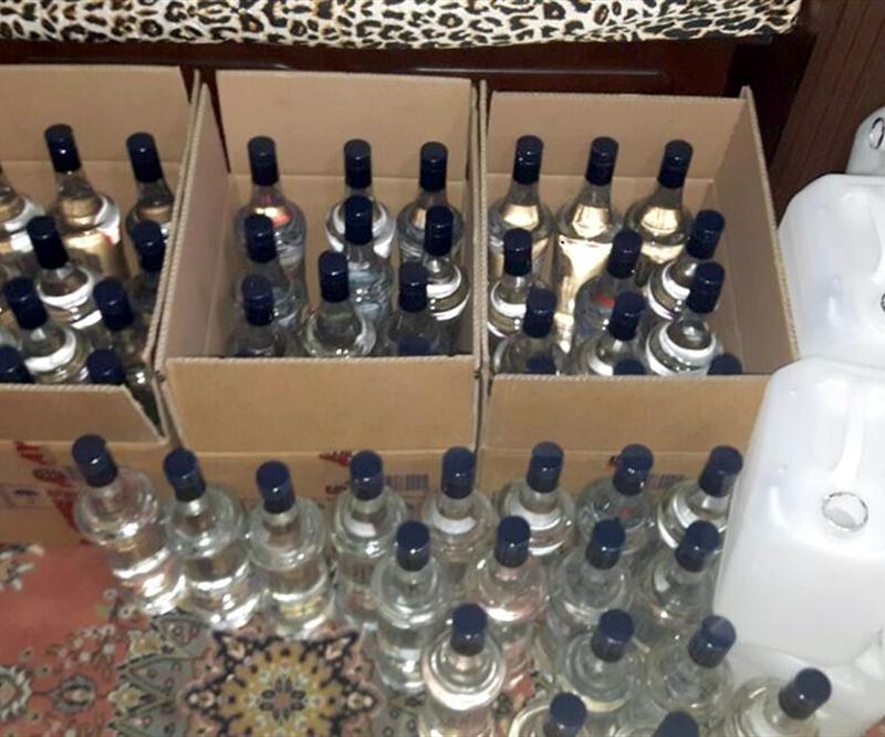 Yakalanan sahte içkilerin sayısı dudak ucuklattı!