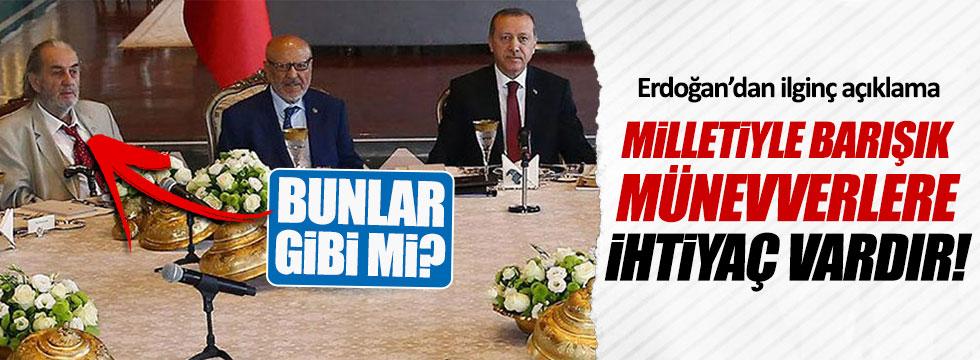 Erdoğan o sözlerle kimi kastetti?