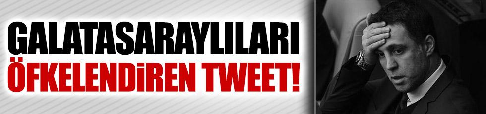 Hakan Şükür'den Galatasaraylıları kızdıran tweet