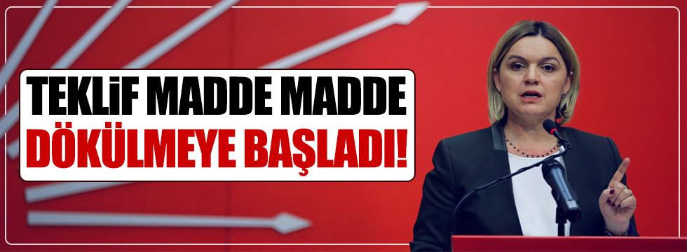 "CHP'li Böke: ""Teklif madde madde dökülmeye başladı"""