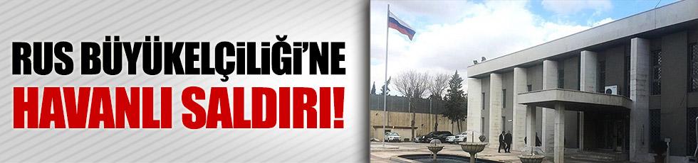 Rus Büyükelçiliği'ne saldırı!