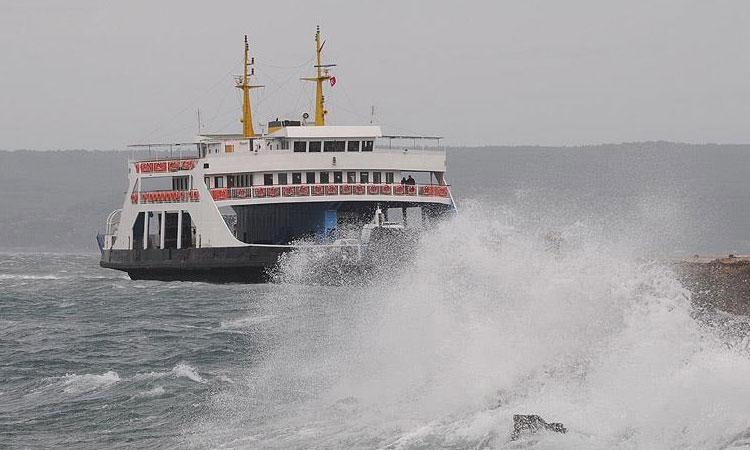 İstanbul'a fırtına engeli!