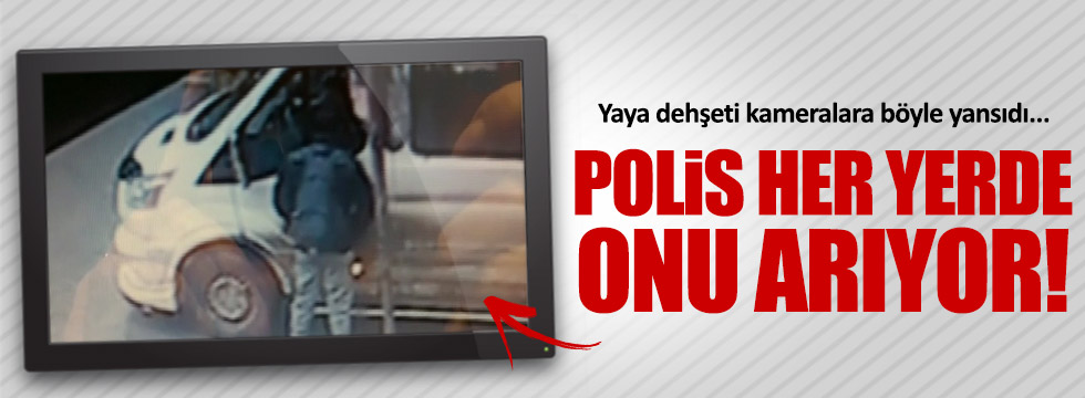 Bursa'da yaya dehşeti kameralara yansıdı