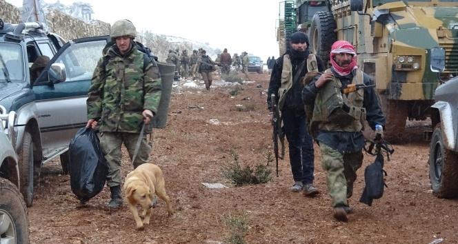 Türk askeri El Bab'da böyle görüntülendi