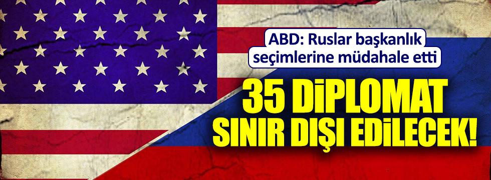 35 Rus diplomat ABD'den sınır dışı ediliyor!