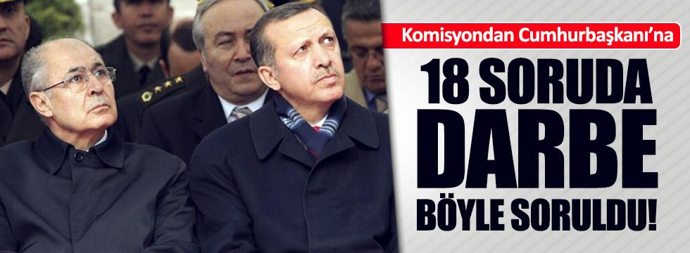 Komisyondan Ahmet Necdet Sezer'e 18 soru