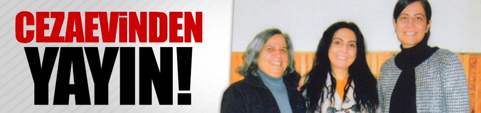 Tutuklu HDP'lilerden cezaevi pozu