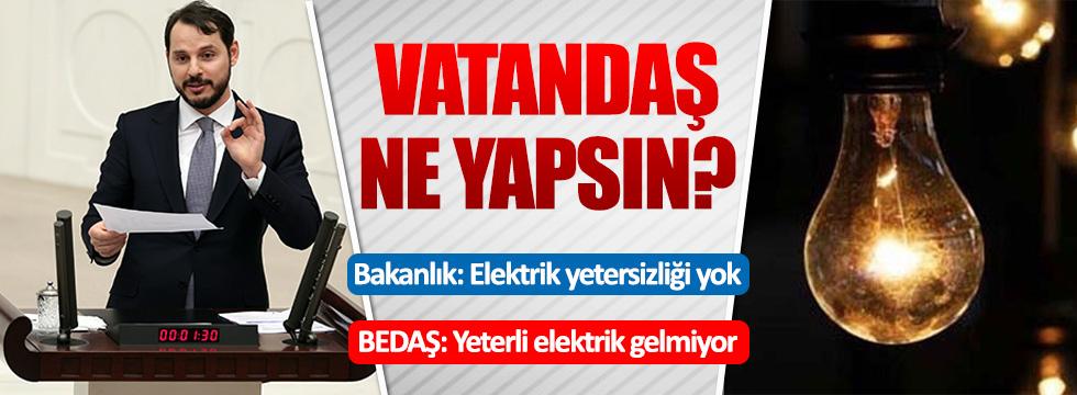 Enerji Bakanlığı, BEDAŞ'ı yalanladı