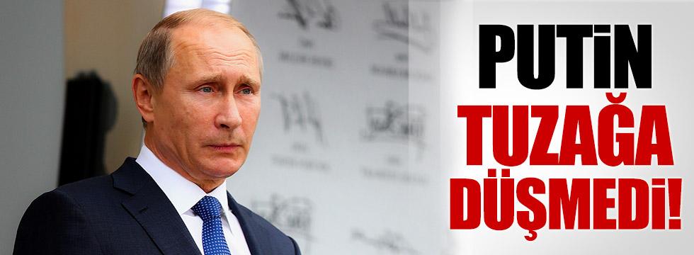 Washington gerdi, Putin yumuşattı