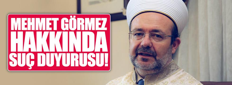 Mehmet Görmez hakkında suç duyurusu
