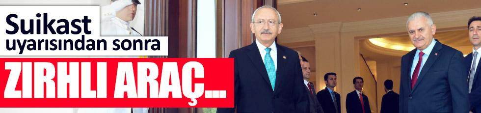 Kılıçdaroğlu'na suikast uyarısı