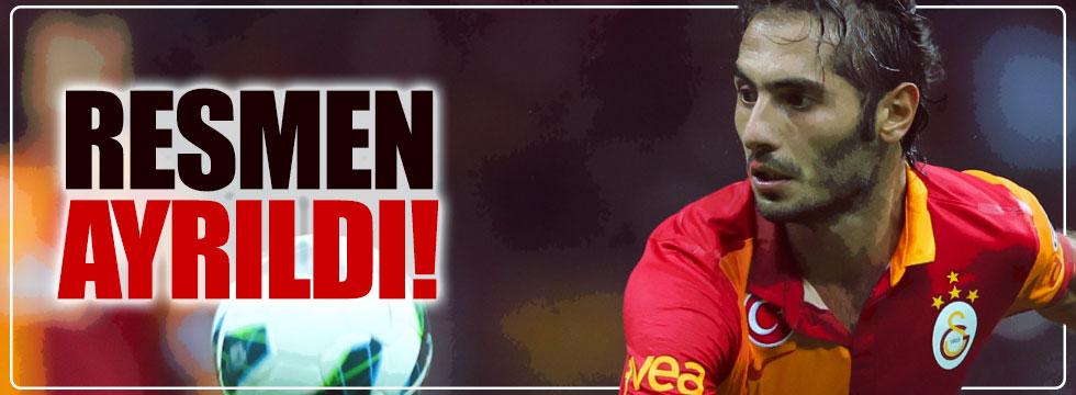 Hamit Altıntop, Galatasaray'a veda etti