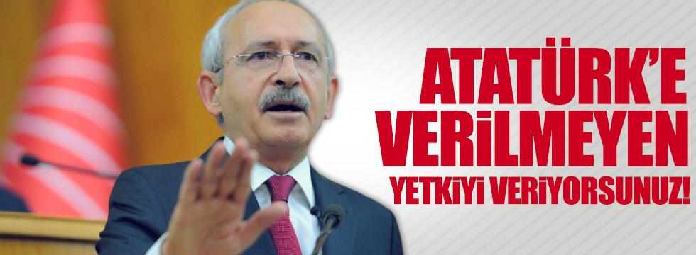 """""""Türkiye'nin tarihine ihanettir"""""""