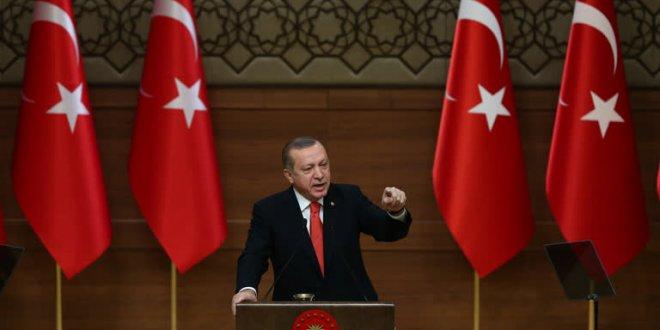 """Erdoğan: """"Kaybedersek, Sevr önümüze gelecek"""""""