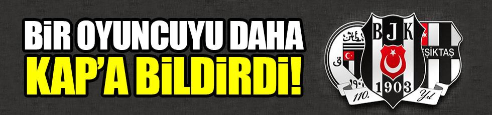 Beşiktaş yeni stoperini KAP'a bildirdi