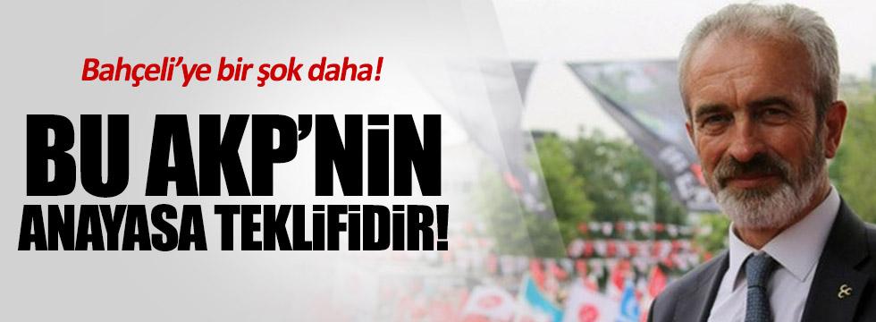 """Açba: """"Bu AKP'nin anayasa teklifidir"""""""