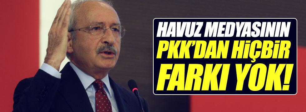 """""""Havuz medyasının PKK'dan hiçbir farkı yok"""""""