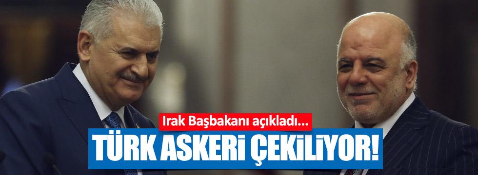 Türk askeri Başika'dan çekiliyor