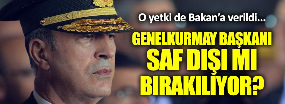 Atamalar Genelkurmay Başkanı'na sorulmayacak