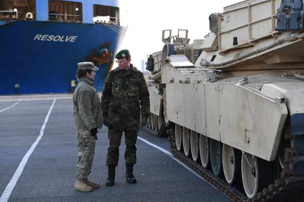 ABD'den büyük çaplı askeri sevkiiyat