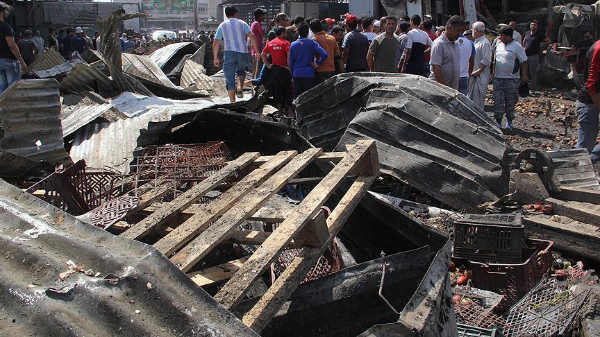 Irak'ta halk pazarına saldırı: 10 ölü